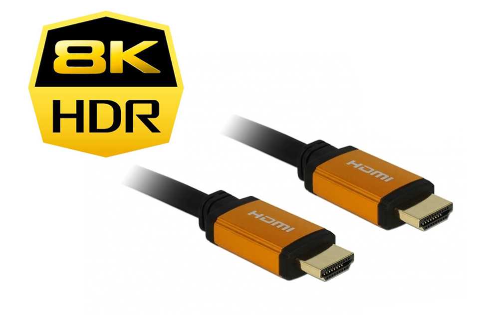 DeLOCK HDMI 2.1 kabel, 8K@60Hz