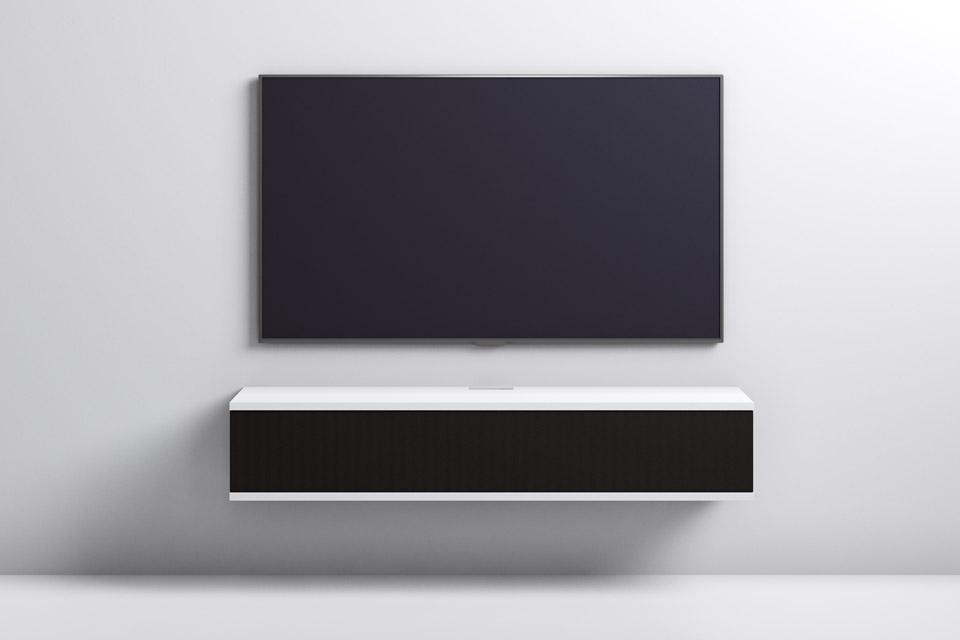 Unnu 12S AV design møbel, hvid