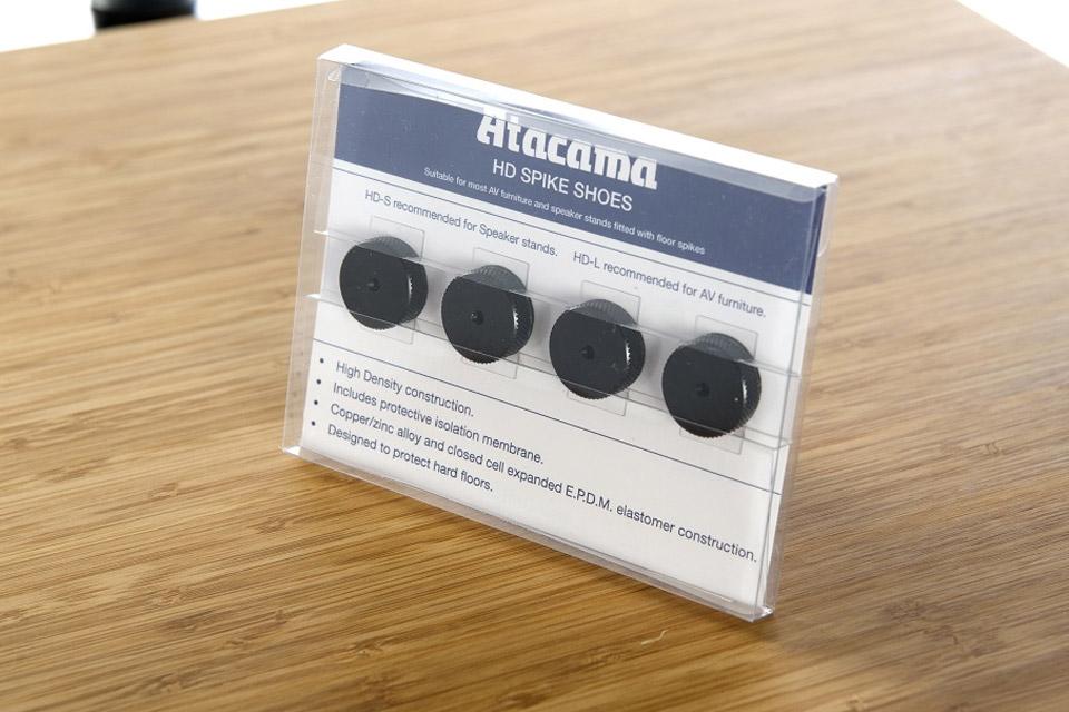 Atacama Audio HD-L Spike plates/pads, nickel/silver, 4 pc  pack