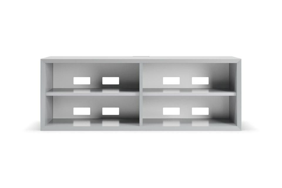 Clic 222-2 grundmøbel, lyse grå