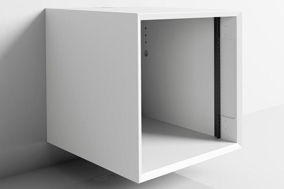 Clic 312 AV grundmøbel, hvid