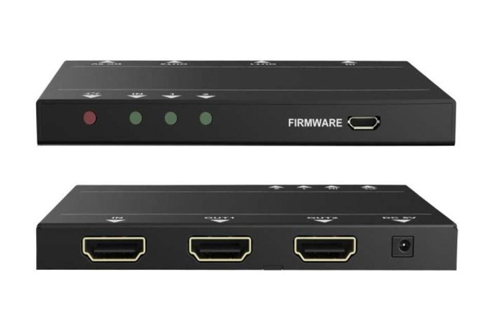 Vivolink HDMI splitter 1x2, 4K