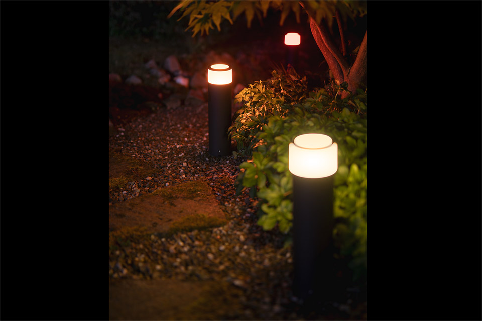 Philips Hue Outdoor Calla høj Base kit