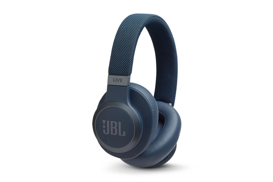 JBL Live 650BTNC hovedtelefoner, blå
