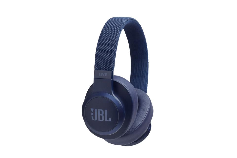 JBL Live 500 BT hovedtelefoner, blå
