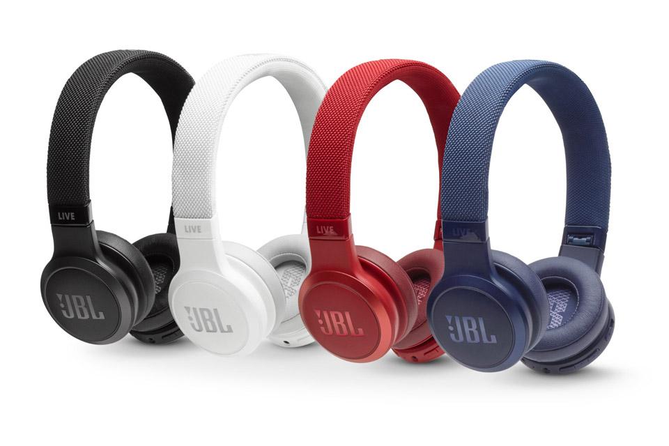 JBL LIVE 400BT on-ear hovedtelefoner, alle farver