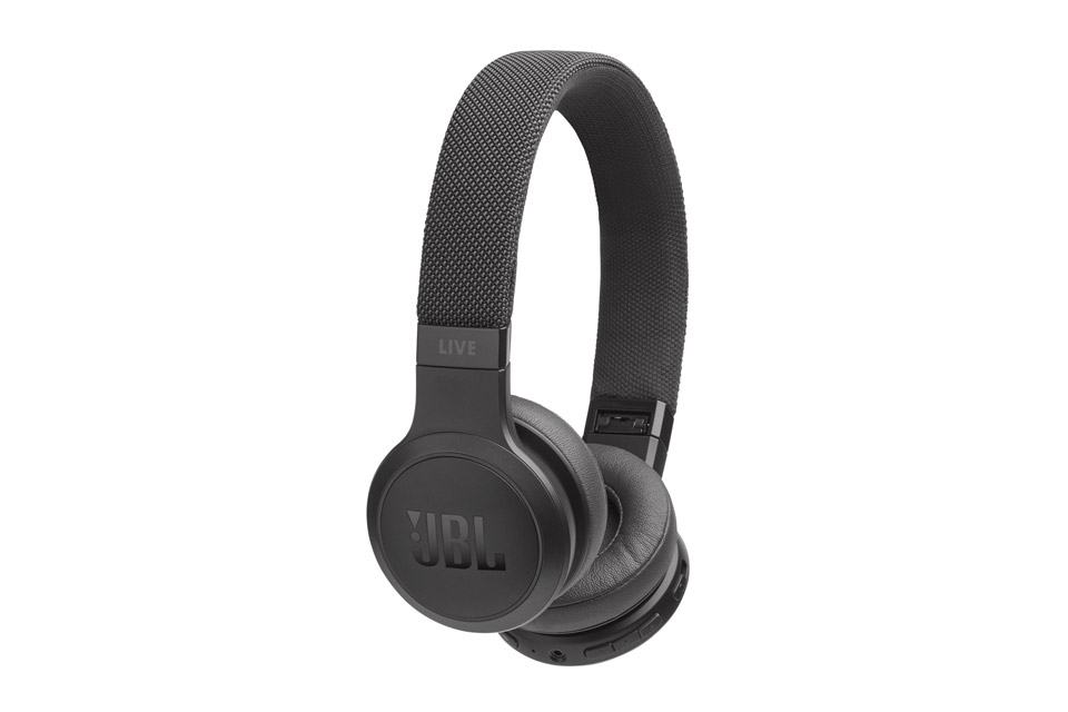 JBL LIVE 400BT on-ear hovedtelefoner, sort
