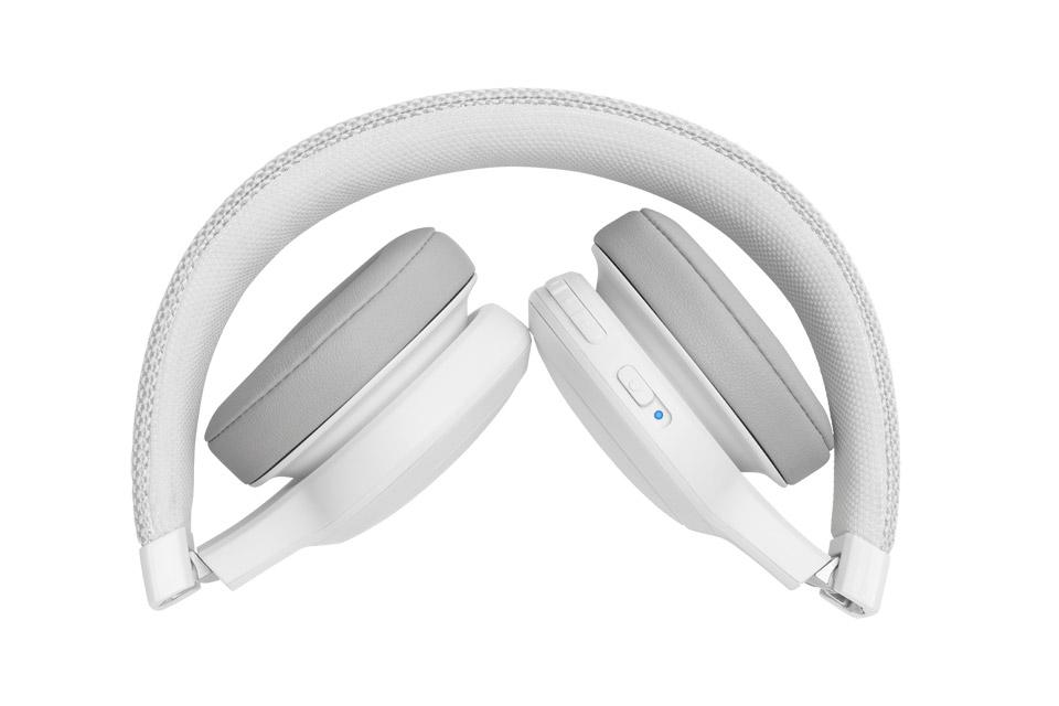 JBL LIVE 400BT on-ear hovedtelefoner, hvid
