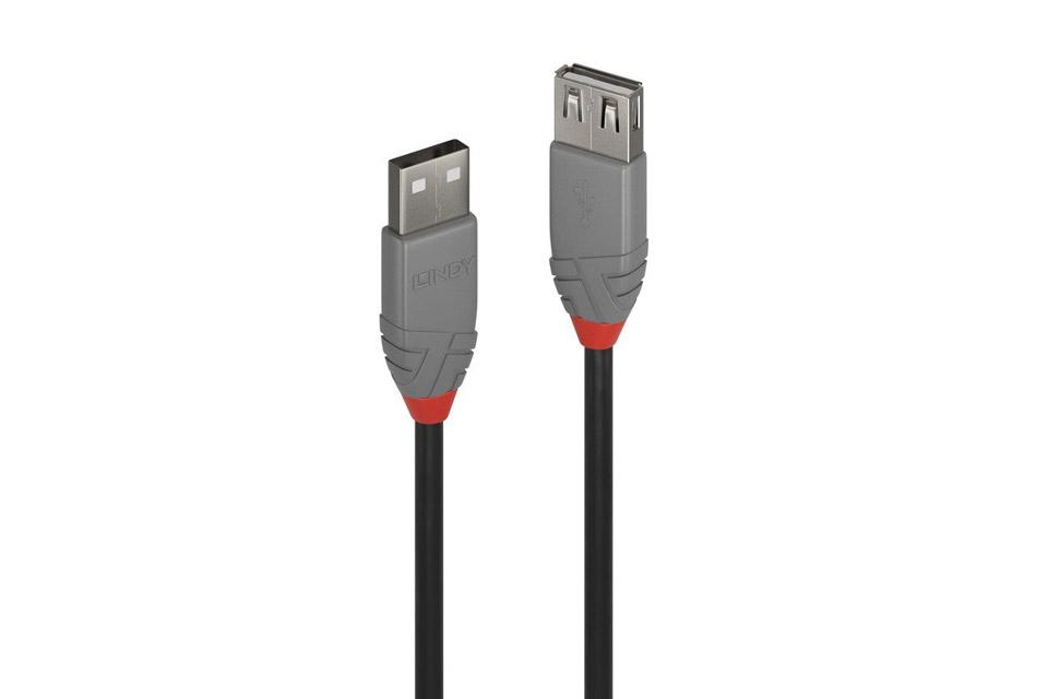 Lindy Anthra line USB-A til USB-A forlængerkabel, 2.0