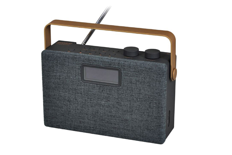 Maximum F7 DAB og FM radio med bluetooth