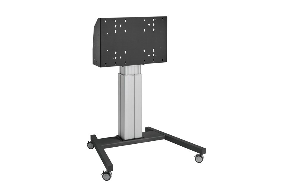 Vogels Pro motoriseret trolley stand, sort