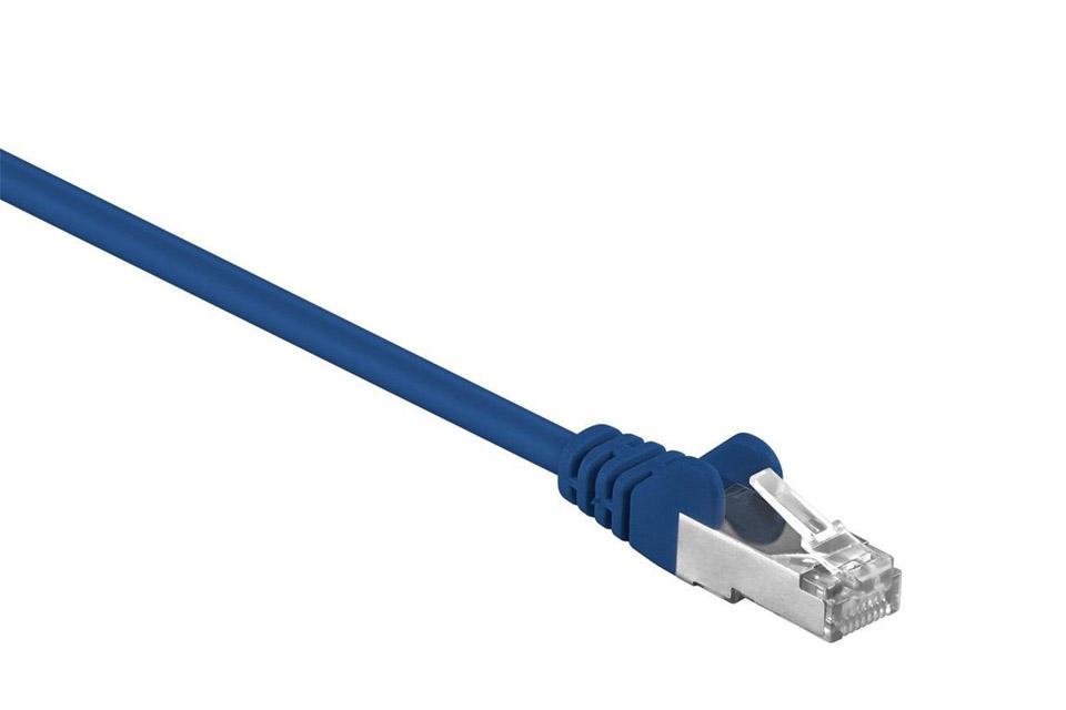 Goobay CAT 5e SF/UTP netværkskabel - Blå