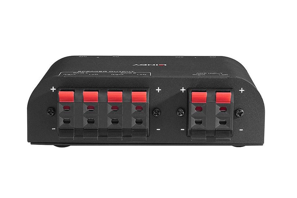 Lindy 2-vejs højttaler kontrolboks - Back