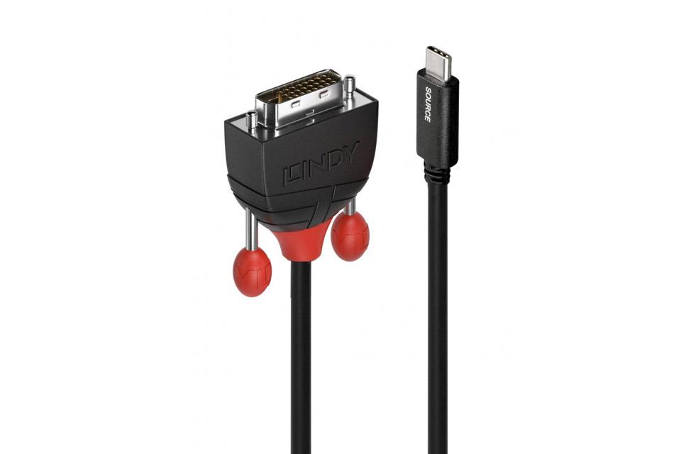 USB-C til DVI adapter kabel - Side