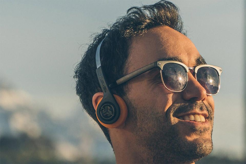 859b1522ea1 JLab Audio Rewind wireless on-ear headphones, black