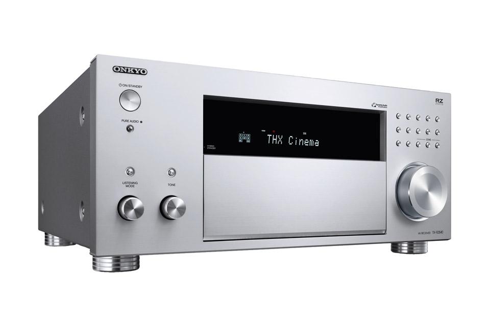 Onkyo TX-RZ840 surround receiver, sølv