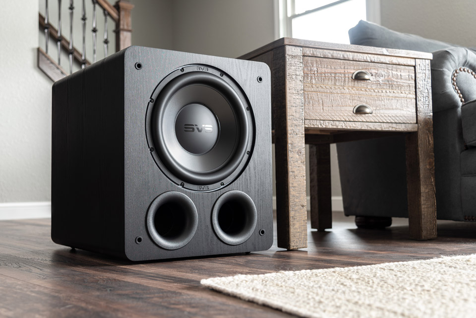 SVS PB3000 subwoofer, sort ask