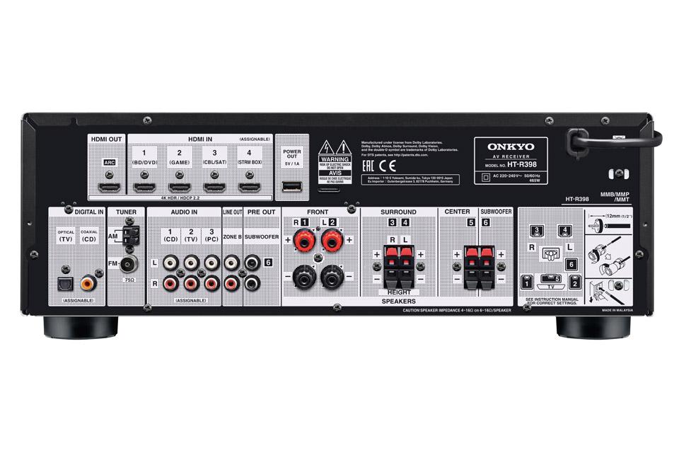 Onkyo HT-S3910 surroundsystem