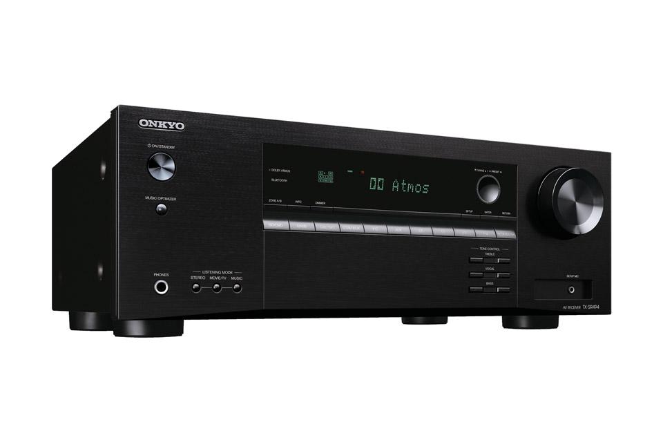 Onkyo TX-SR494 surround receiver, sort