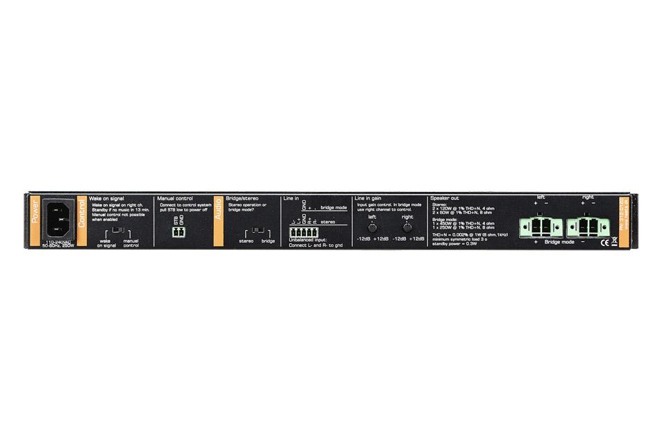 Neets Audio Amplifier - 120 - Back