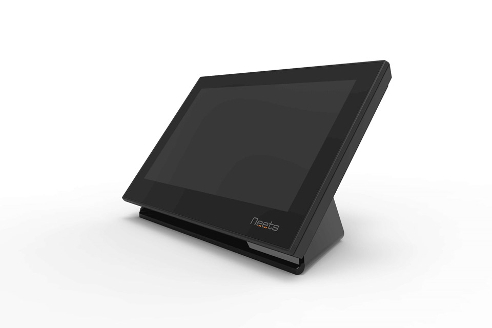 Neets Table stand for Neets touch panel - Black Front