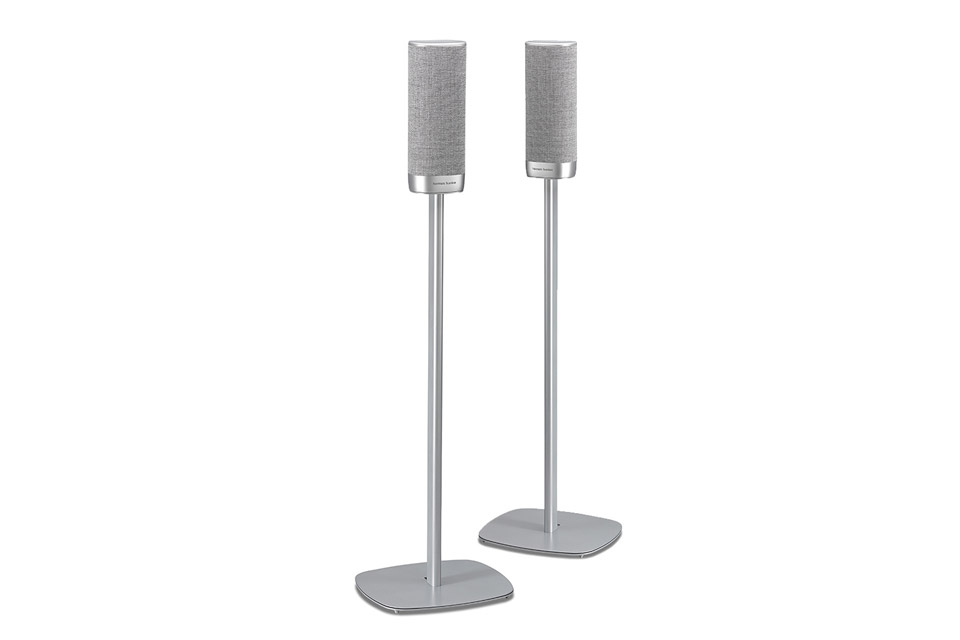 SoundXtra floor stand for Harman Kardon Citiation surround, silver