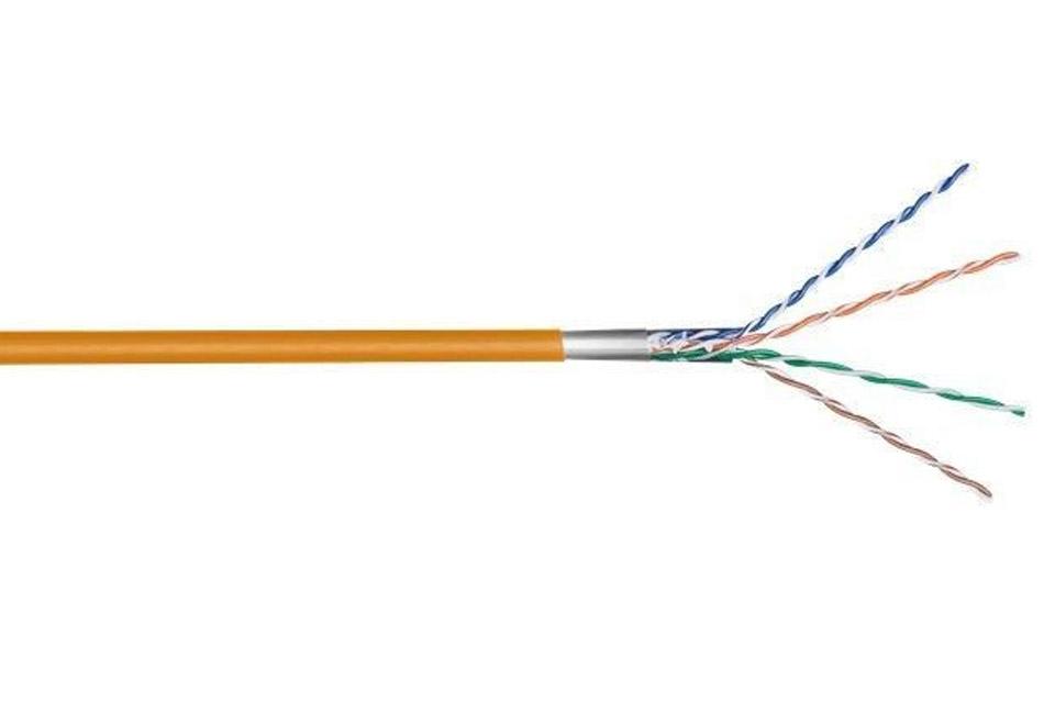 CAT 5e F/UTP netværkskabel, orange