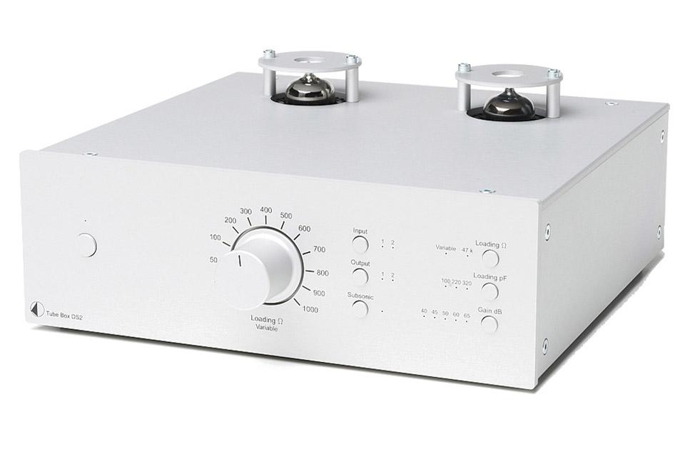 Pro-Ject Tube Box DS2, sølv