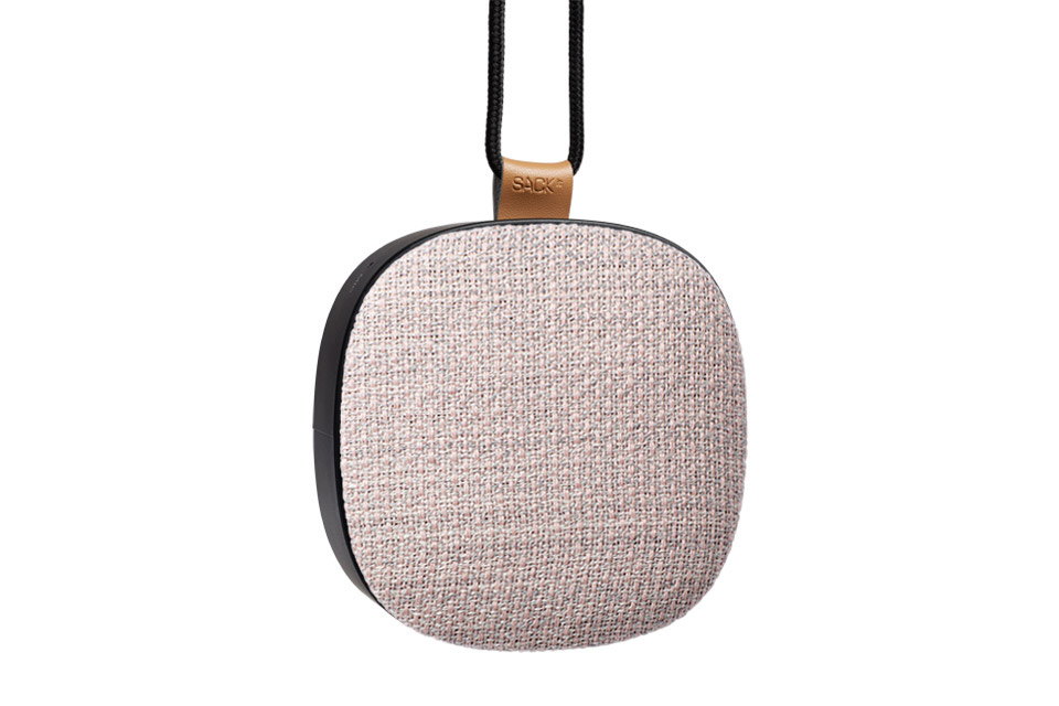 SACK-it WOOFit Go X bluetooth højttaler, icy pink