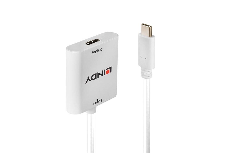 Lindy USB-C til HDMI konverter, med HDR