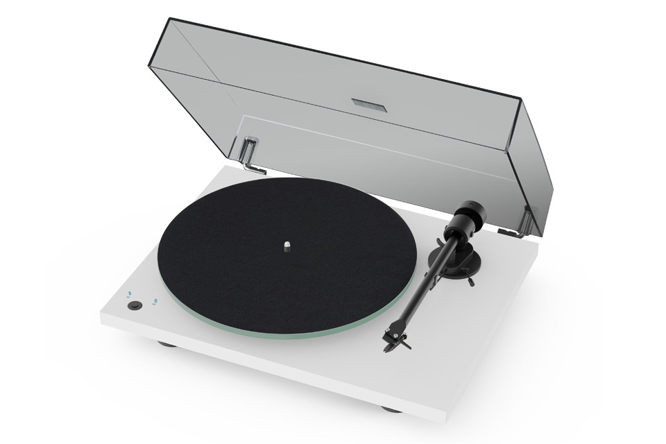 Pro-Ject T1 Phono SB turntable, white satin