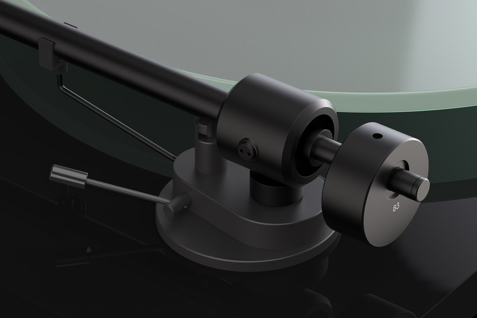 Pro-Ject T1 turntable, detail