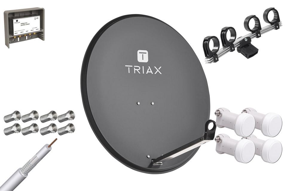 Triax TDS 80A parabolpakke 2A