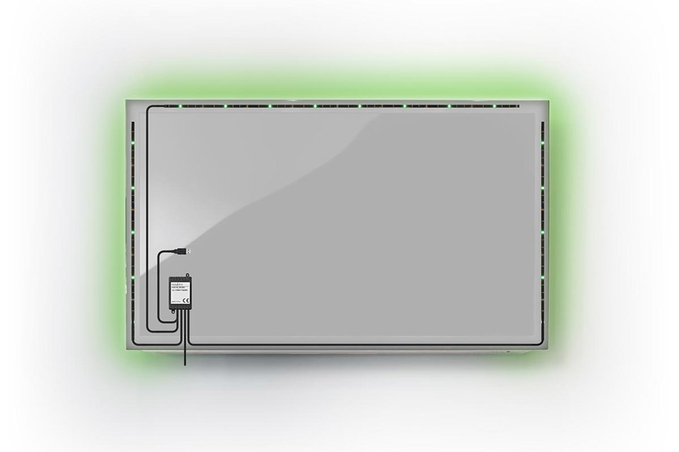 Nedis LED mood lights for the tv - Green