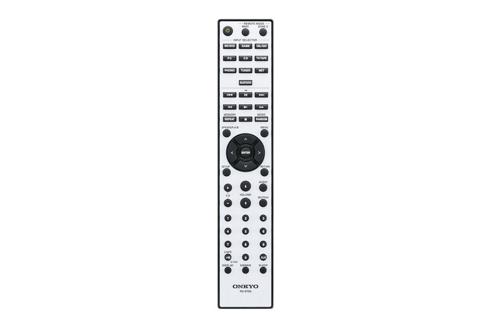 Onkyo TX-8390 stereo receiver, remote