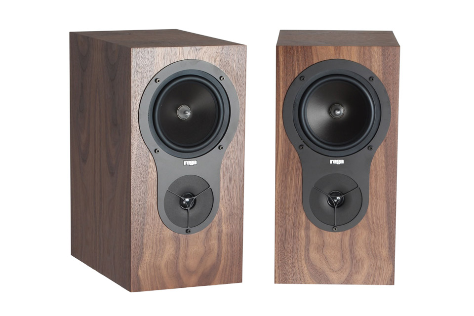 Rega RX-1 reol højttaler, valnød