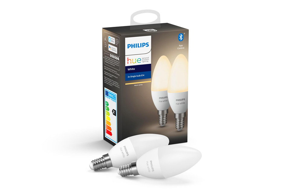 Philips Hue White E14 LED pære