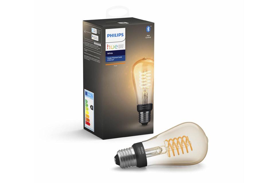 Philips Hue White E27 ST64 White filament