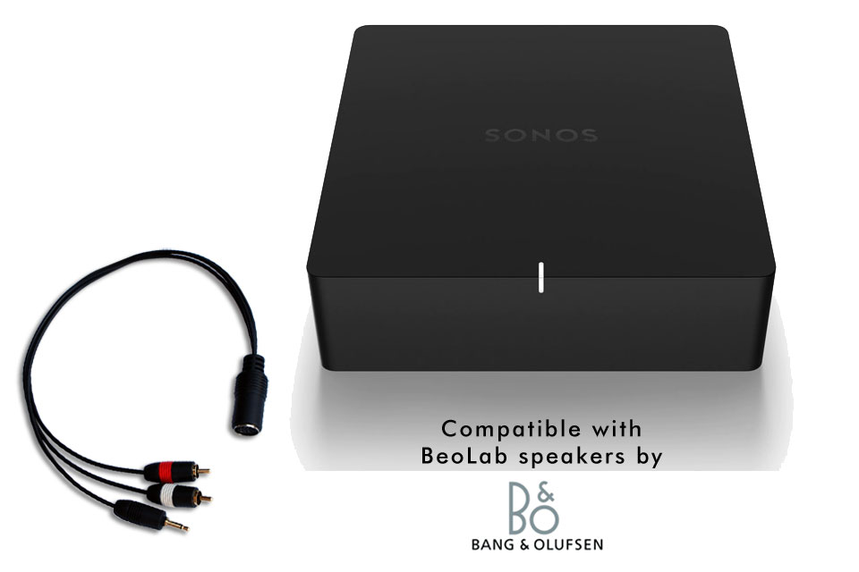 SONOS Port streamer inkl. B&O 2.0 stereo kit