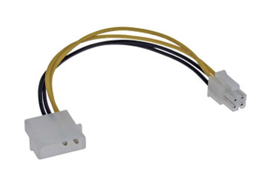 Strøm adapter 4-polet til Molex