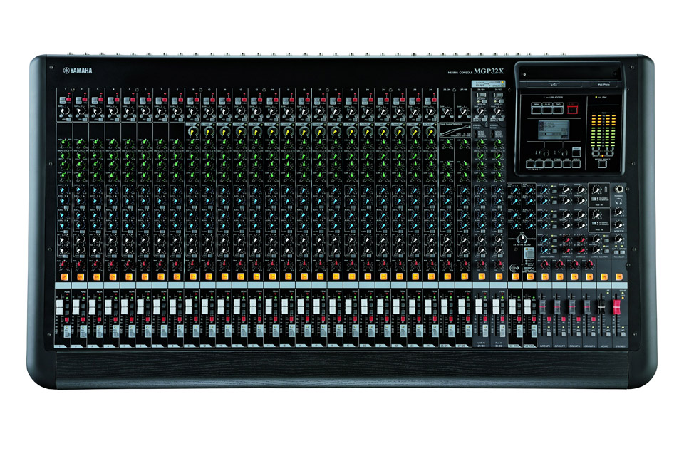 MGP32X mixer front