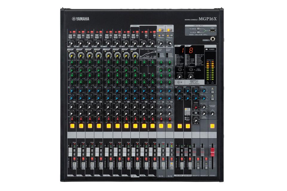 MGP16X mixer front