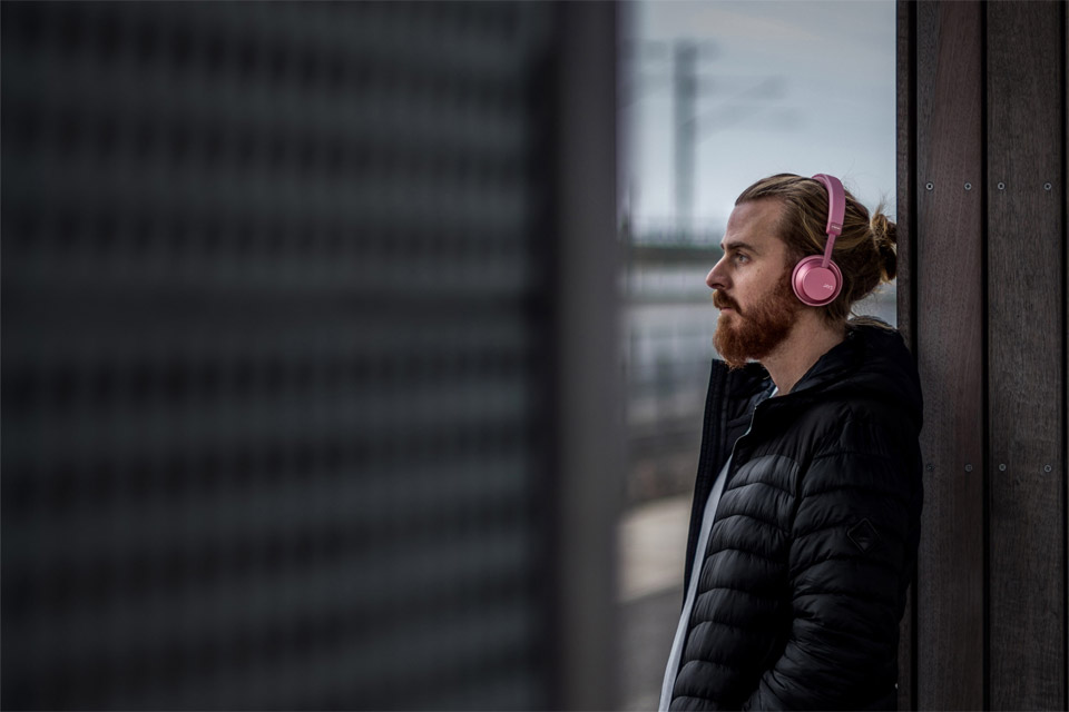 JAYS a-Seven wireless on-ear headphones, lifestyle
