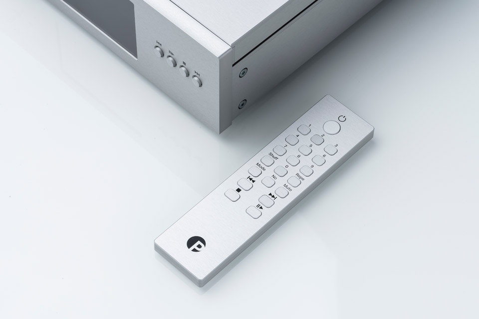 Pro-Ject CD BOX RS2 T remote, sølv