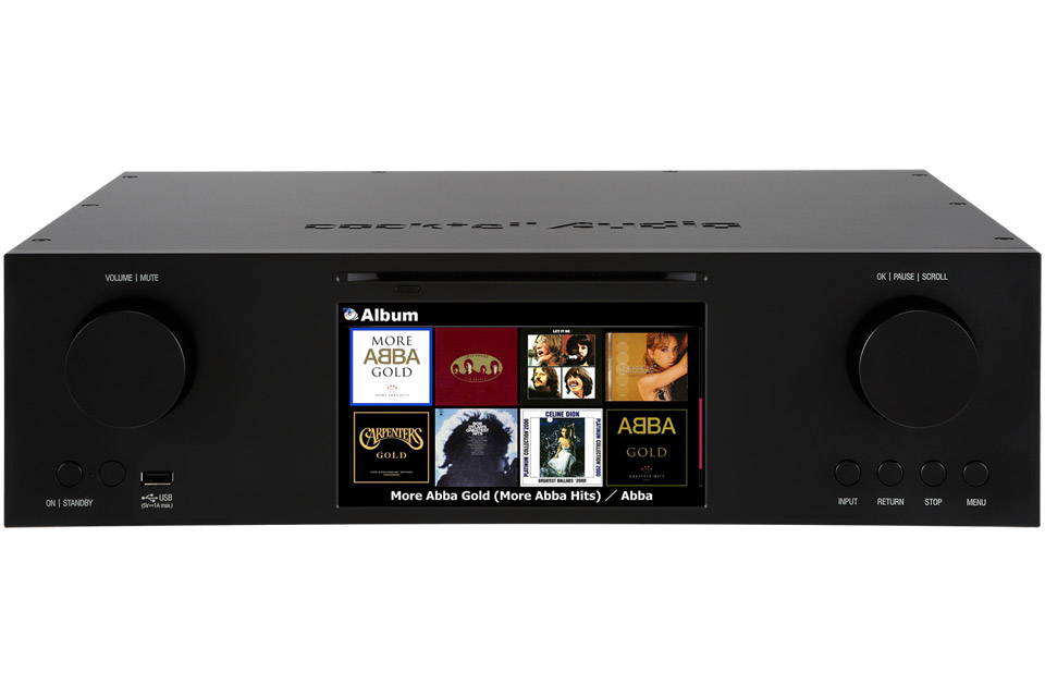 Cocktail Audio X-50 Pro digital streamer - Sort