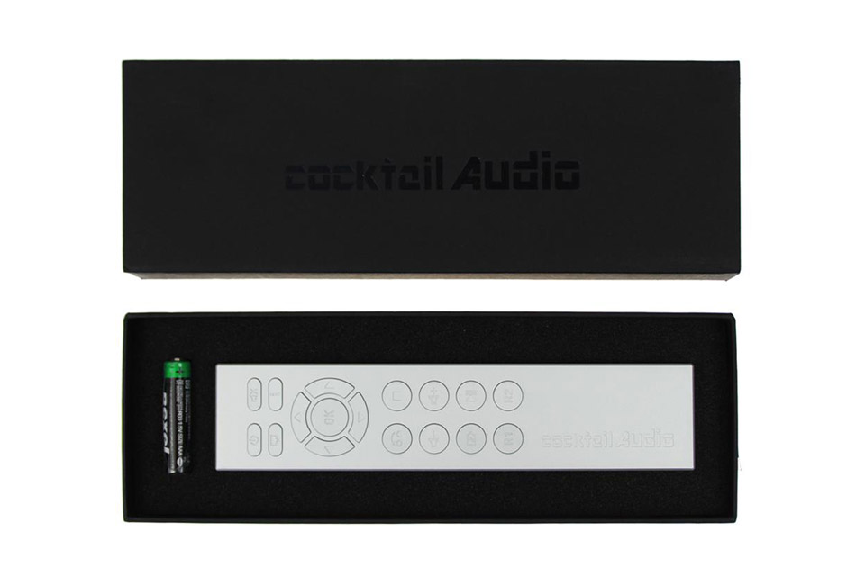 Cocktail Audio 2nd Remote Control - Silver