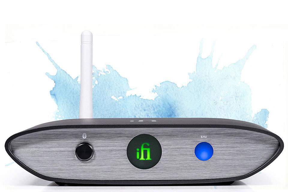 ifi ZEN Blue wireless Bluetooth DAC - Blue