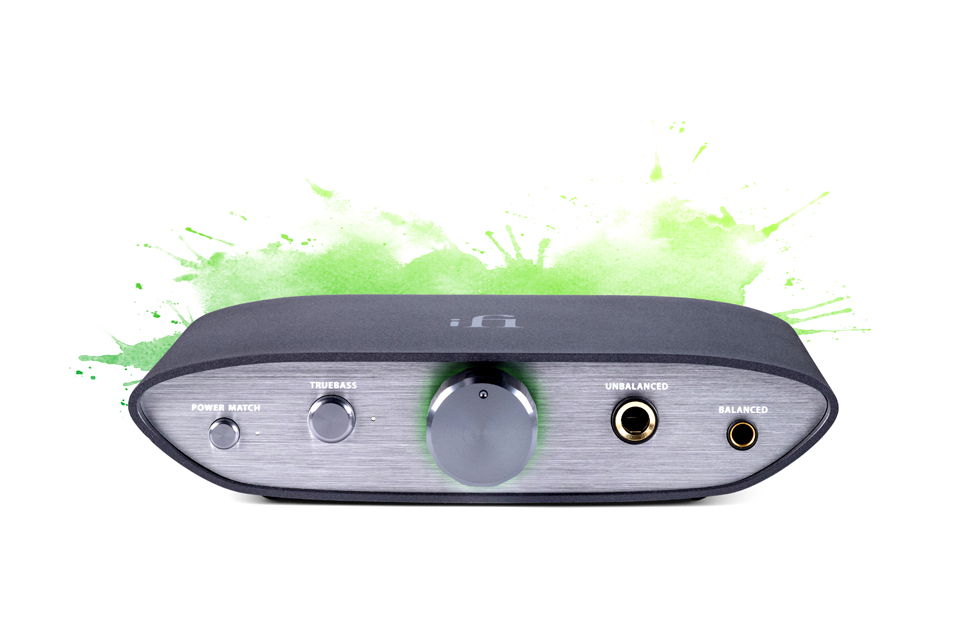 ifi ZEN Dac balanced USB-audio DAC - Green