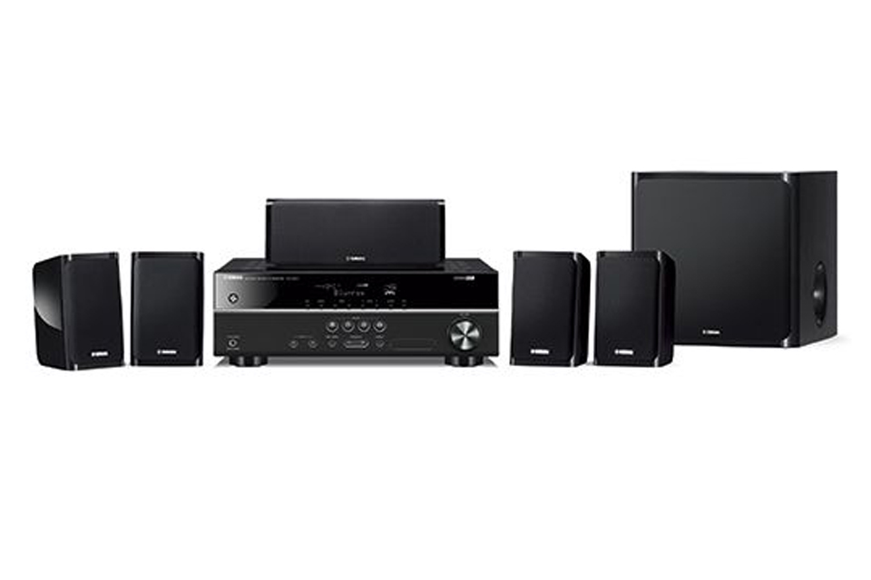 Yamaha 5.1-channel home theatre package