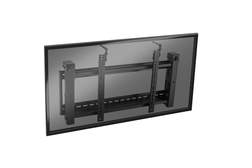Lindy single display pop-out video wall mount